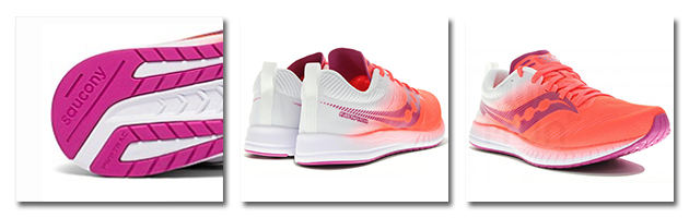 Saucony Fastwitch 9 mujer rosa