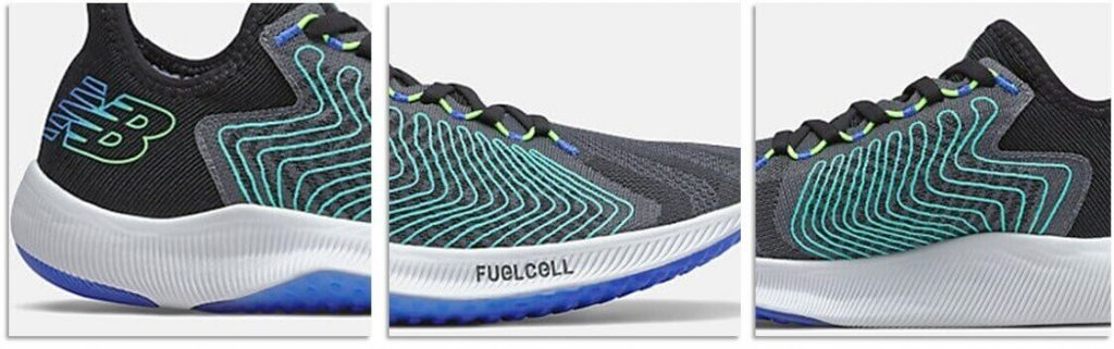 New Balance Fuelcell Rebel media suela